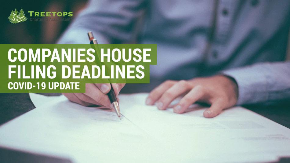 companies house filing deadlines covid 19